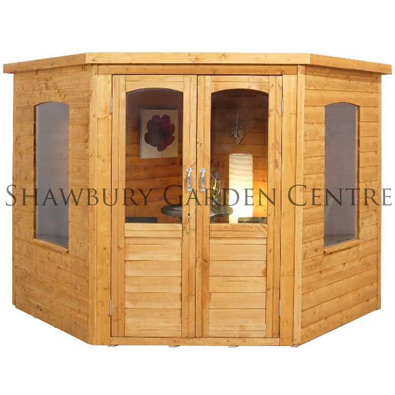 Picture of Forest Garden Cranbourne Corner Summerhouse