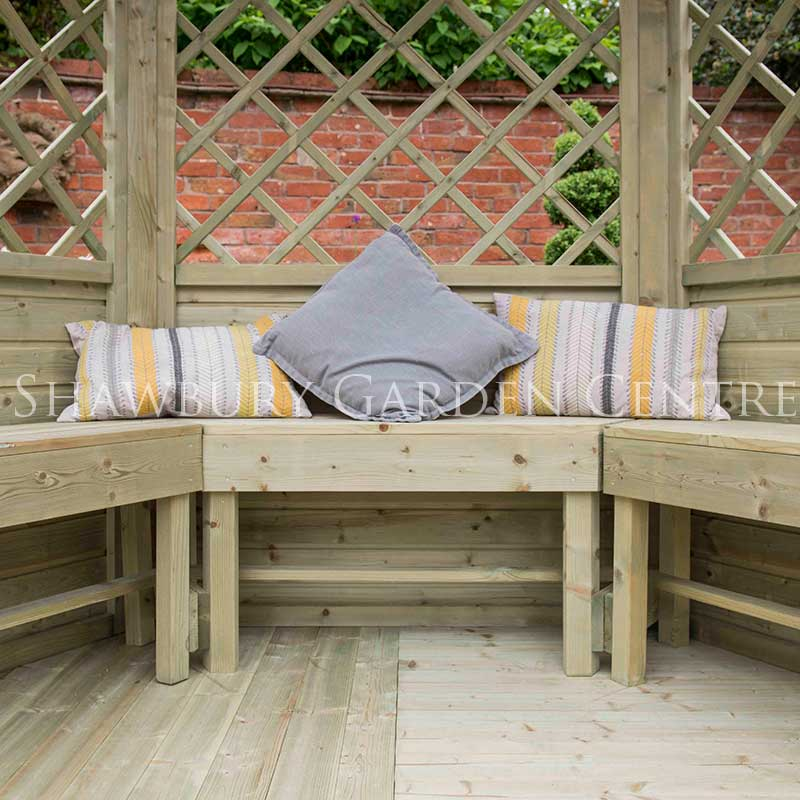 Picture of Forest Garden Half Burford Arbour