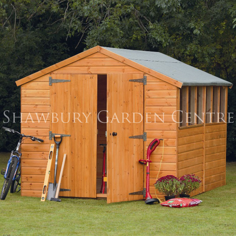 Picture of Forest Garden 8 x 12 Shiplap Apex Workshop Shed