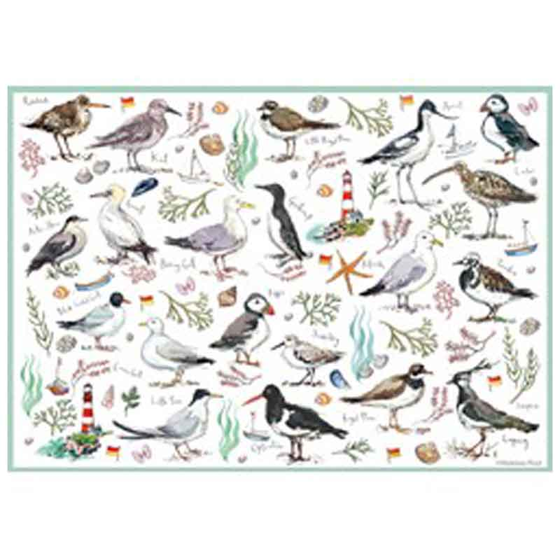 Picture of Otter House Ltd Seabirds 500 Piece Jigsaw Puzzle