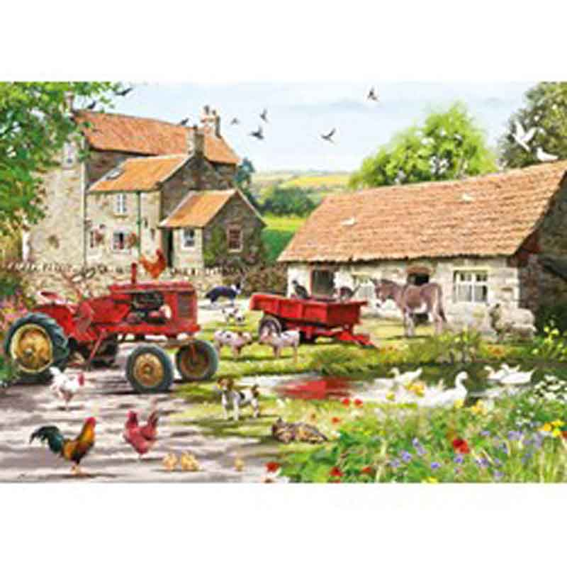 Picture of Otter House Ltd ON THE FARM 500 Piece Jigsaw Puzzle