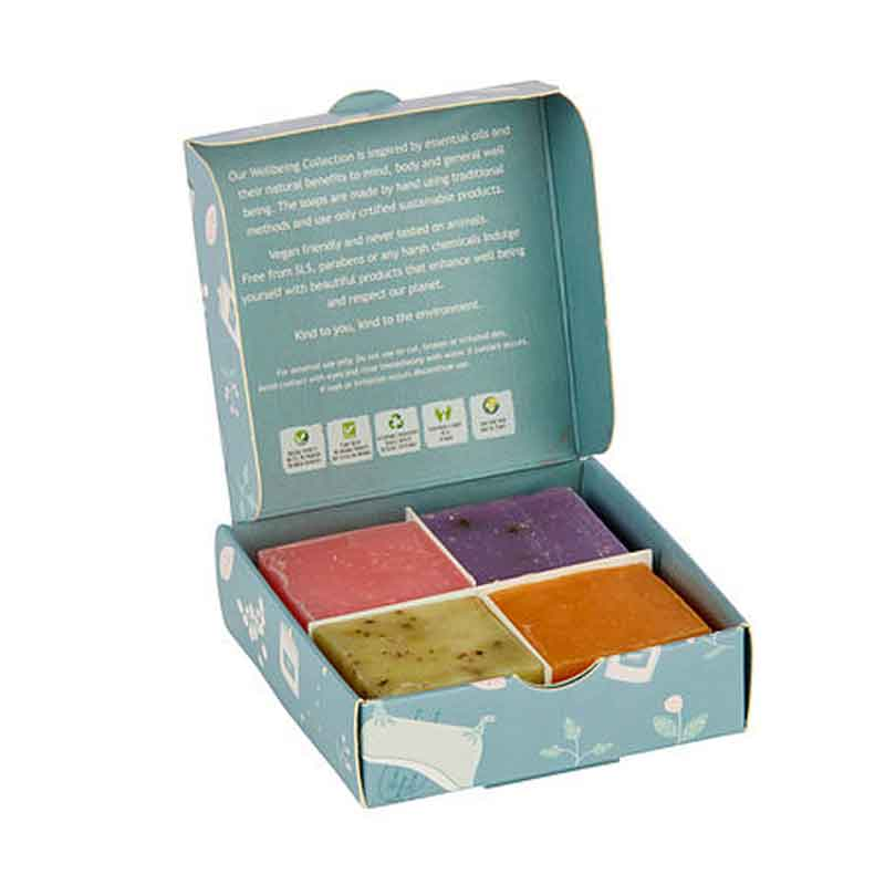 Picture of Wild Olive Wellbeing 4 Soap Collection