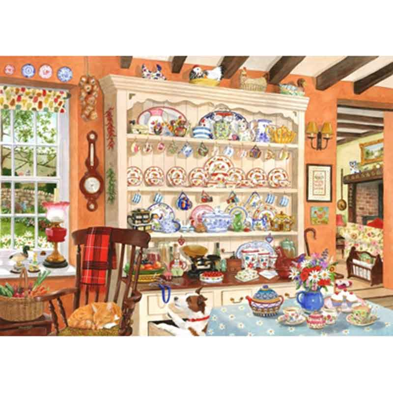 Picture of House of Puzzles 'Aunt Daisy's Dresser' Jigsaw