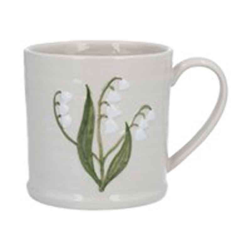 Picture of Gisela Graham Lily Of The Valley Ceramic Mug