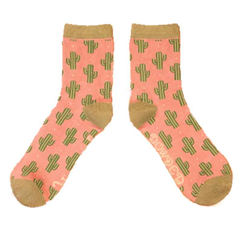 Picture of Powder Cacti Ankle Socks