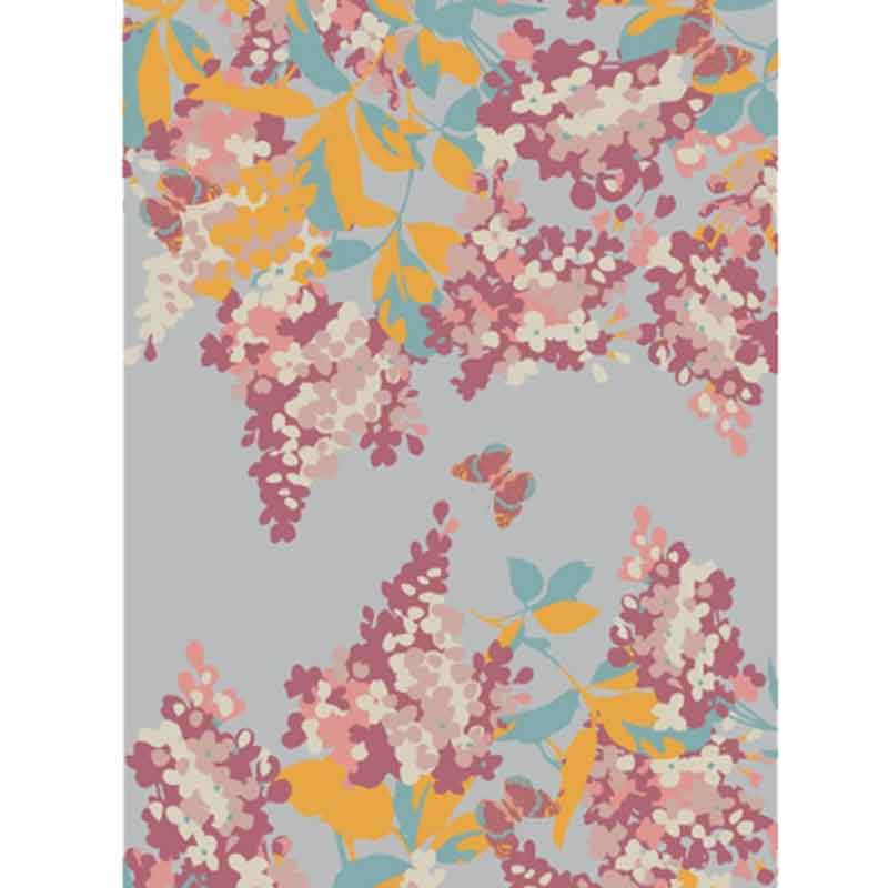 Picture of Powder Lilac Print Scarf