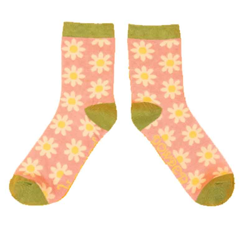 Picture of Powder Daisy Socks