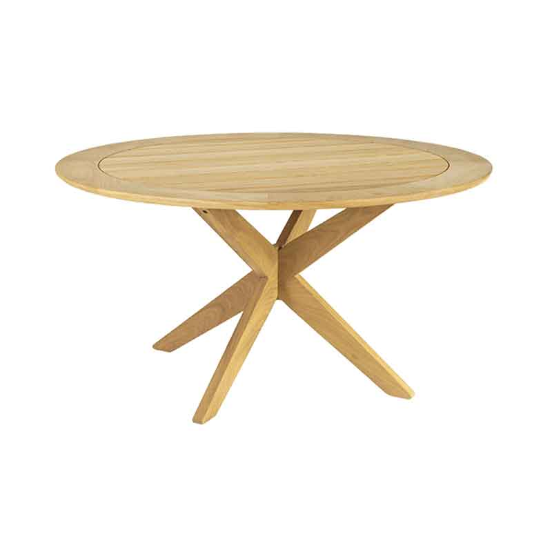 Picture of Alexander Rose Roble ROUND TABLE with CROSS BASE