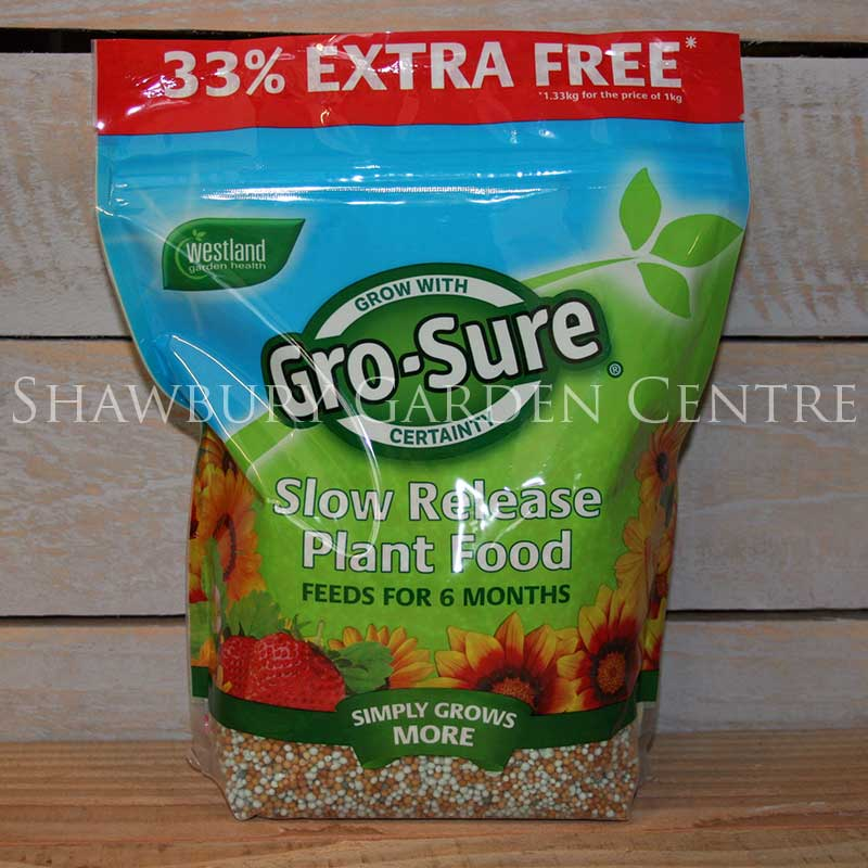 Picture of Westland Gro-Sure 6 Month Slow Release Plant Food