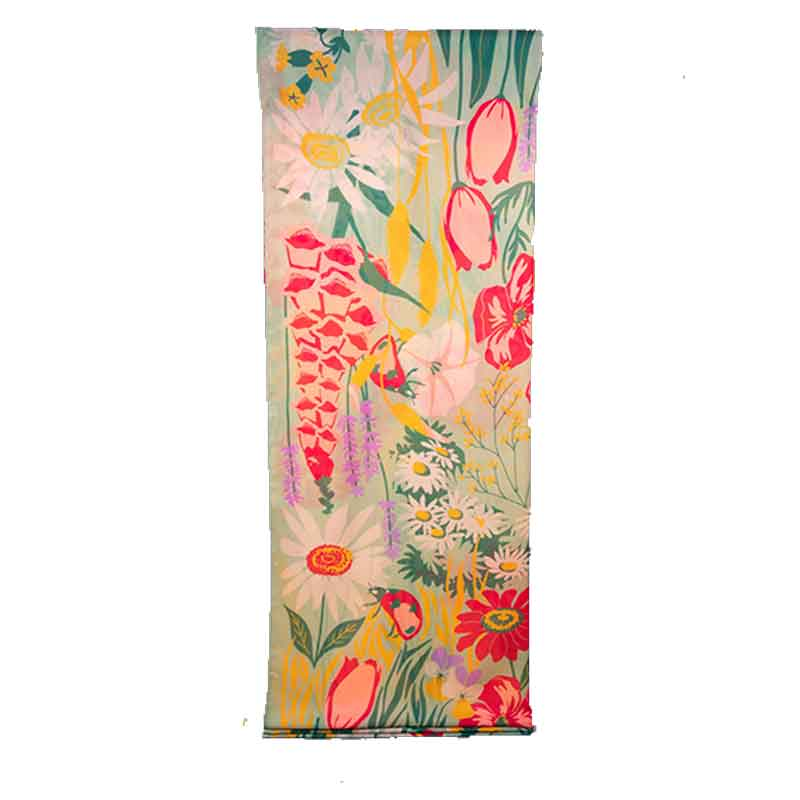 Picture of Powder Country Garden Mint Scarf