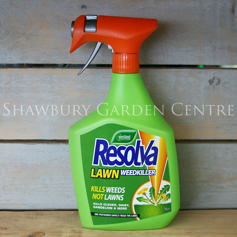 Picture of Westland Resolva Lawn Weedkiller Ready to Use Spray