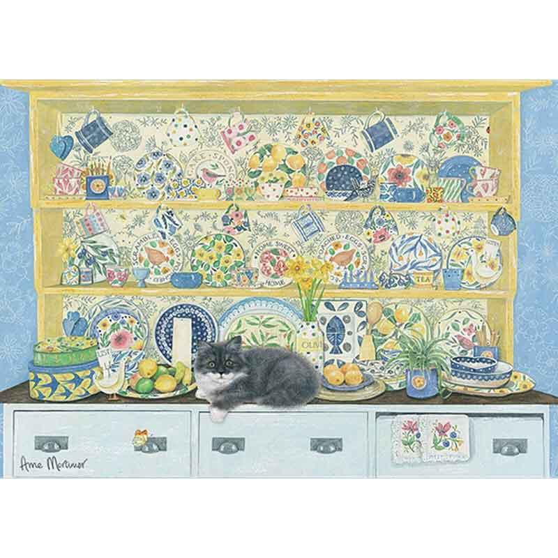 Picture of Otter House Ltd Marie Curie Home Sweet Home 1000 Piece Puzzle
