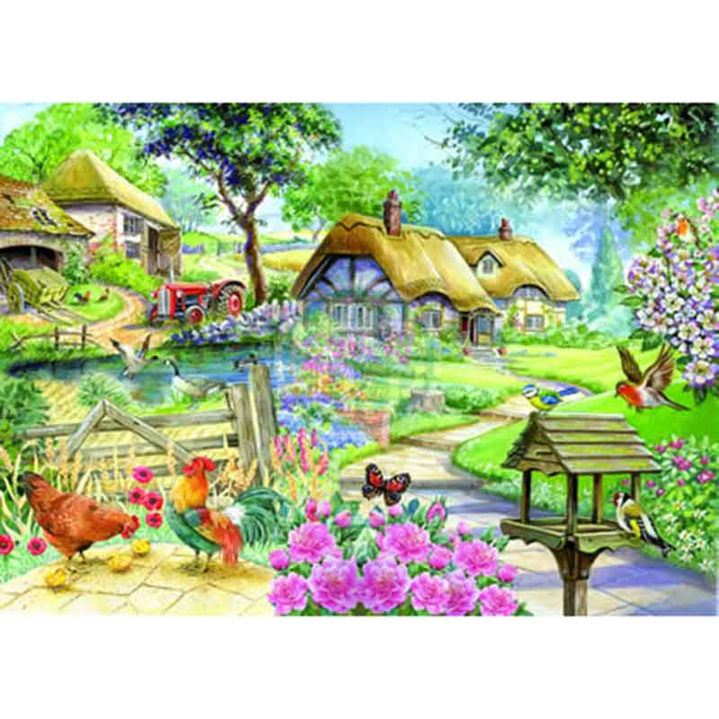 Picture of House of Paws Country Living Big 500 Piece Jigsaw