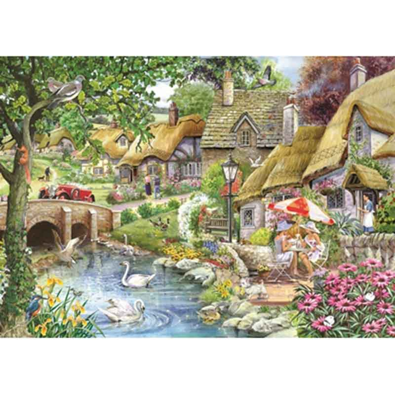 Picture of House of Puzzles 'Morning Coffee' Jigsaw