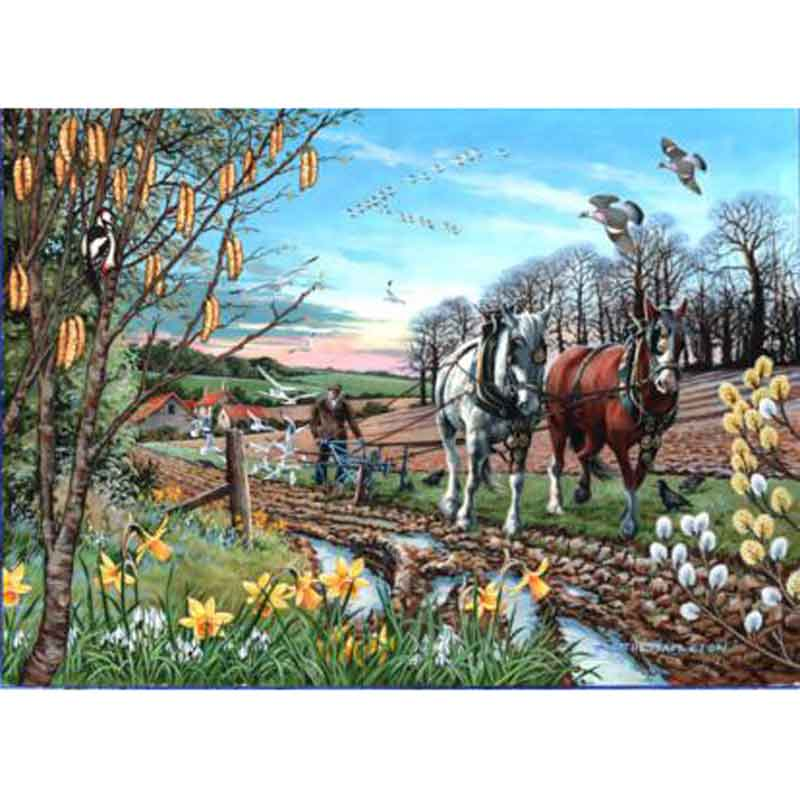 Picture of House of Puzzles 'Final Furrow' Jigsaw Puzzle