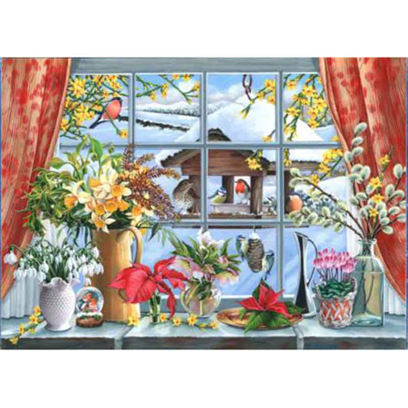 Picture of House of Puzzles 'Watch the Birdies!' Jigsaw Puzzle