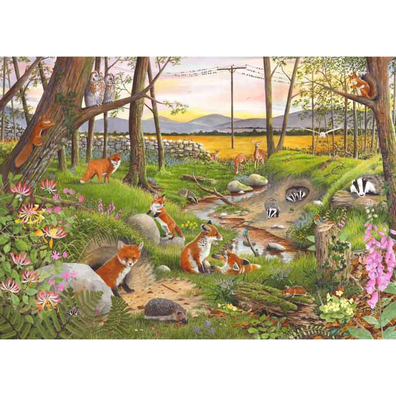 Picture of House of Puzzles 'Midsummer Twilight' Jigsaw Puzzle