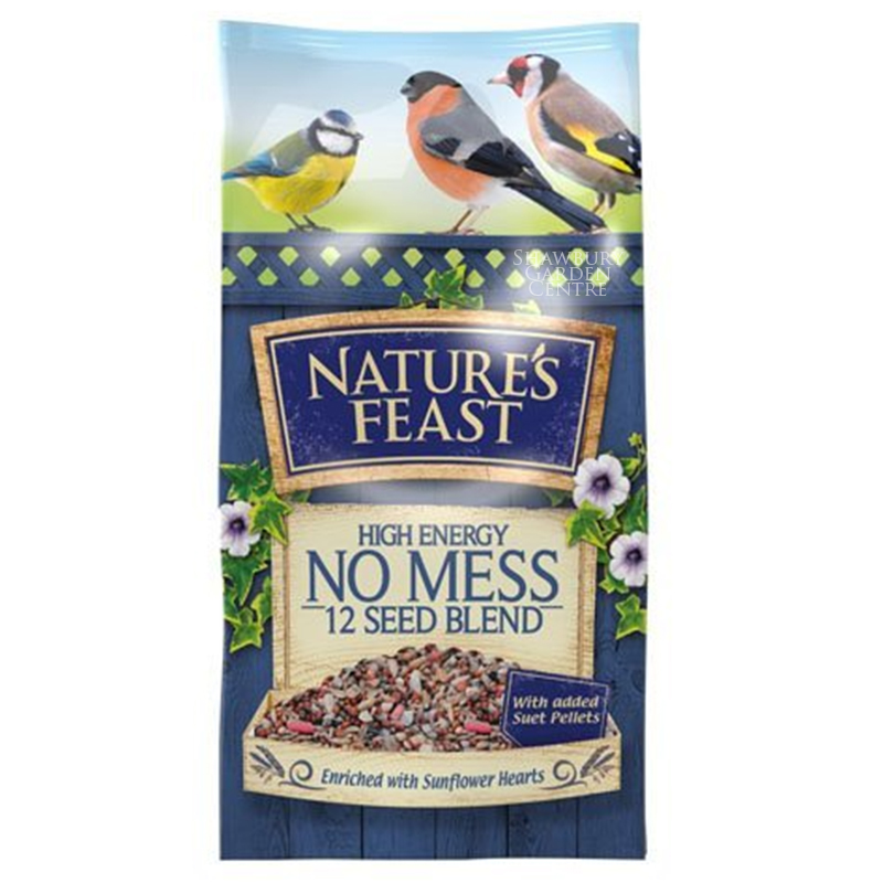 Picture of Nature's Feast No Mess 12 Seed Blend Bird Food