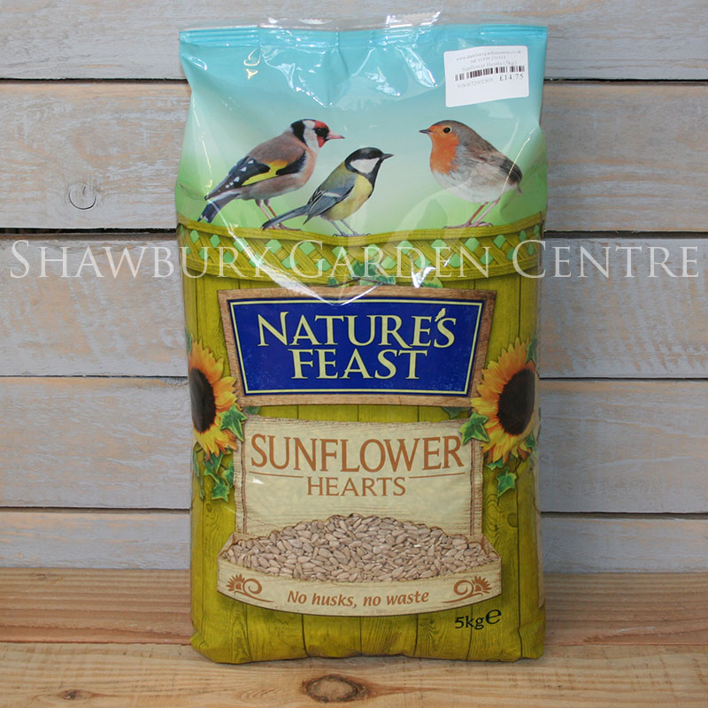 Picture of Nature's Feast Sunflower Hearts Garden Bird Feed