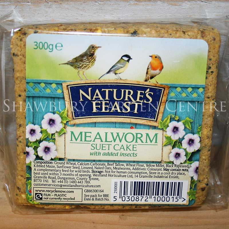 Picture of Nature's Feast Mealworm Suet Cake