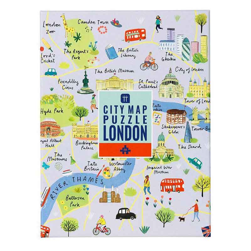 Picture of Talking Tables London City Map Jigsaw Puzzle
