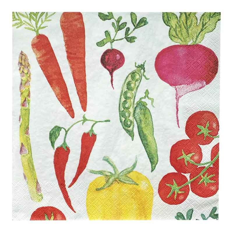 Picture of Talking Tables Veggie-Table Napkins