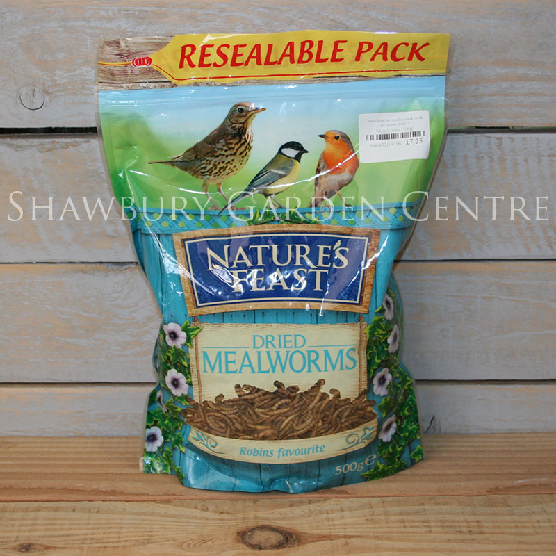 Picture of Nature's Feast Mealworms for Garden Birds