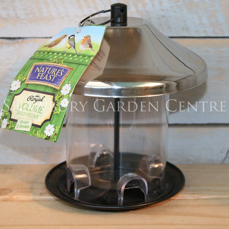 Picture of Nature's Feast Royal Volume Bird Seed Feeder