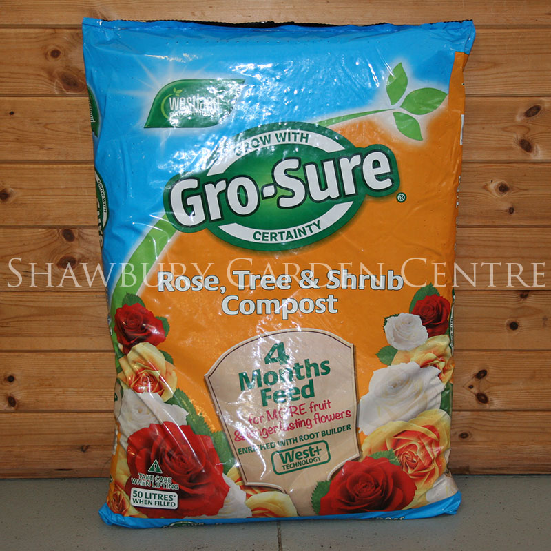 Picture of Westland Gro-Sure® Rose, Tree & Shrub Compost & 4 Month Feed