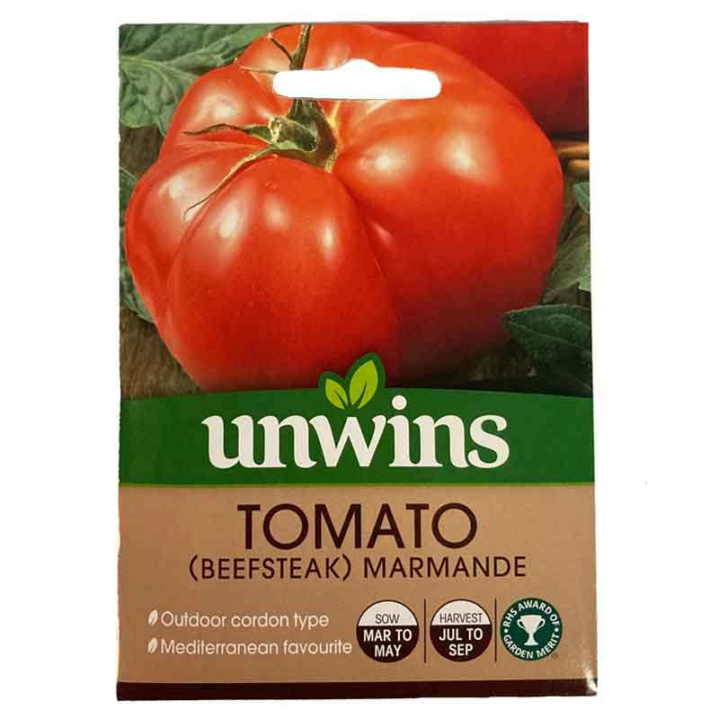 Picture of Unwins Marmande Beefsteak Tomato Seeds