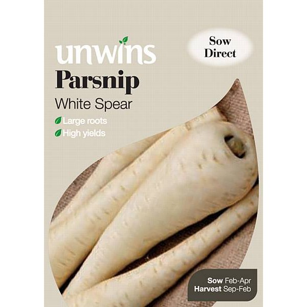 Picture of Unwins 'White Spear' Parsnip