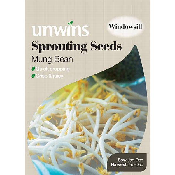 Picture of Unwins 'Mung Bean' Sprouting Seeds
