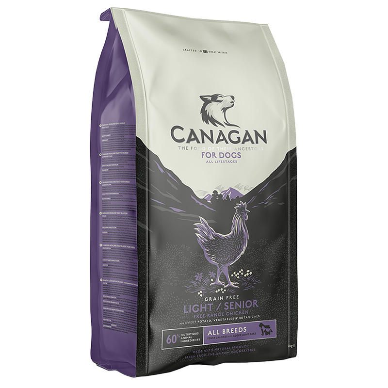 Picture of Canagan Light and Senior Grain-Free Dog Food