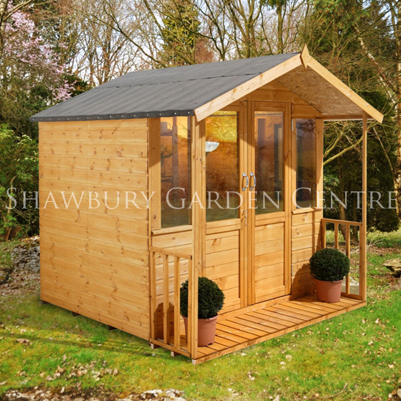Picture of Forest Garden 7 x 7ft Maplehurst Summerhouse