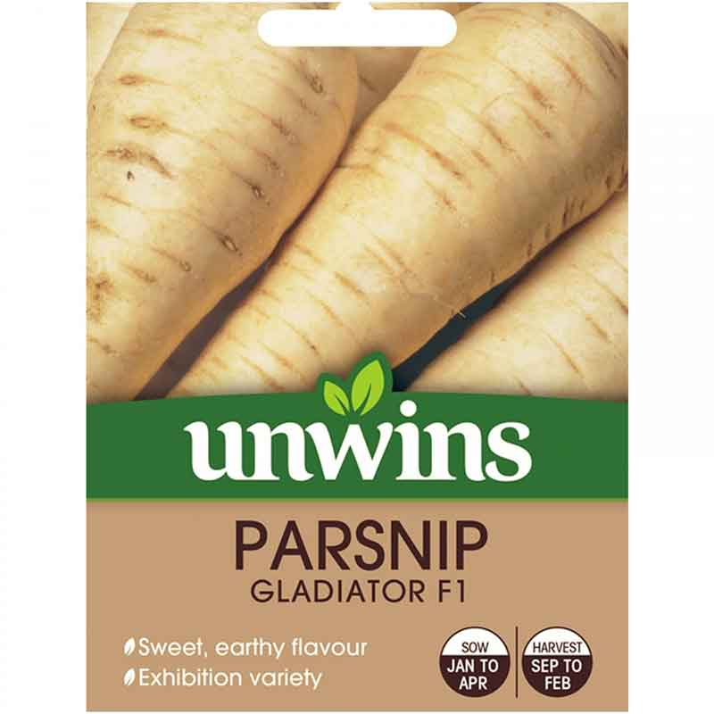 Picture of Unwins PARSNIP Gladiator Seeds