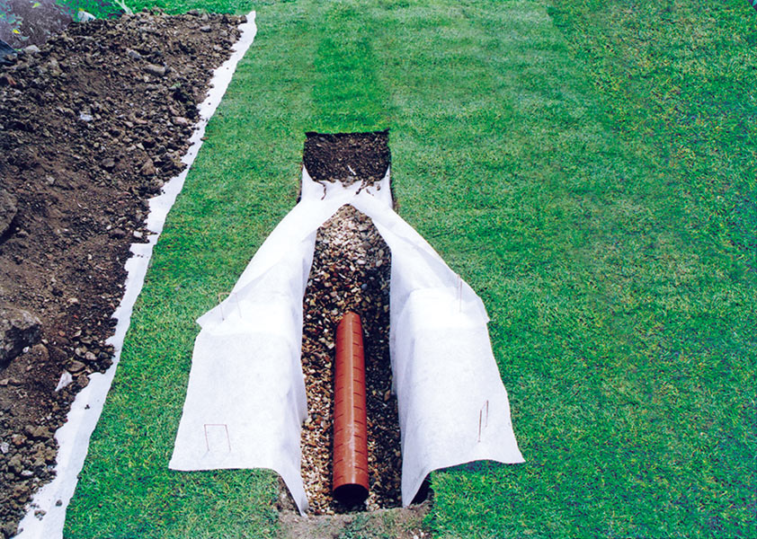 Picture of Permeable Geotextile Membrane