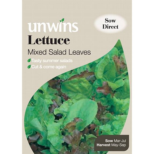 Picture of Unwins Mixed Salad Leaves