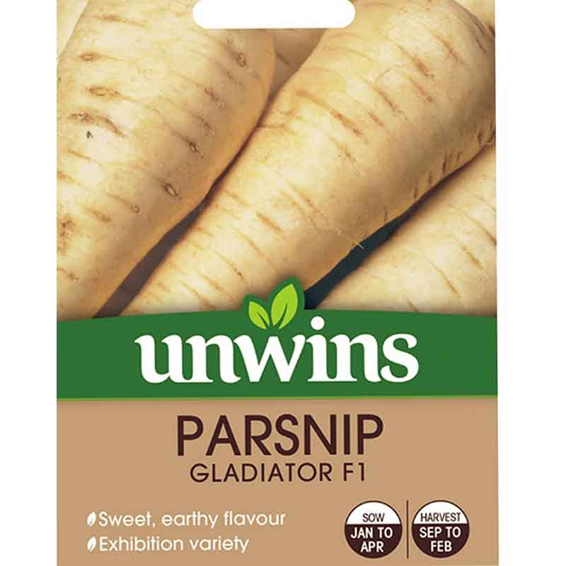 Picture of Unwins PARSNIP Albion Seeds