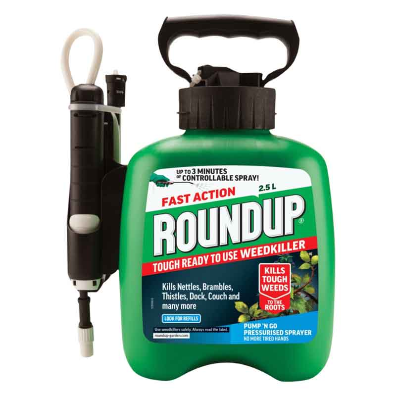 Picture of Scotts Roundup XL Mini Pump n Go Tough & Deep Root Weedkiller