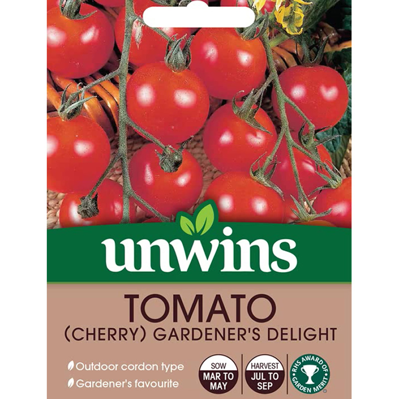 Picture of Unwins 'Gardener's Delight' Cherry Tomato Seeds