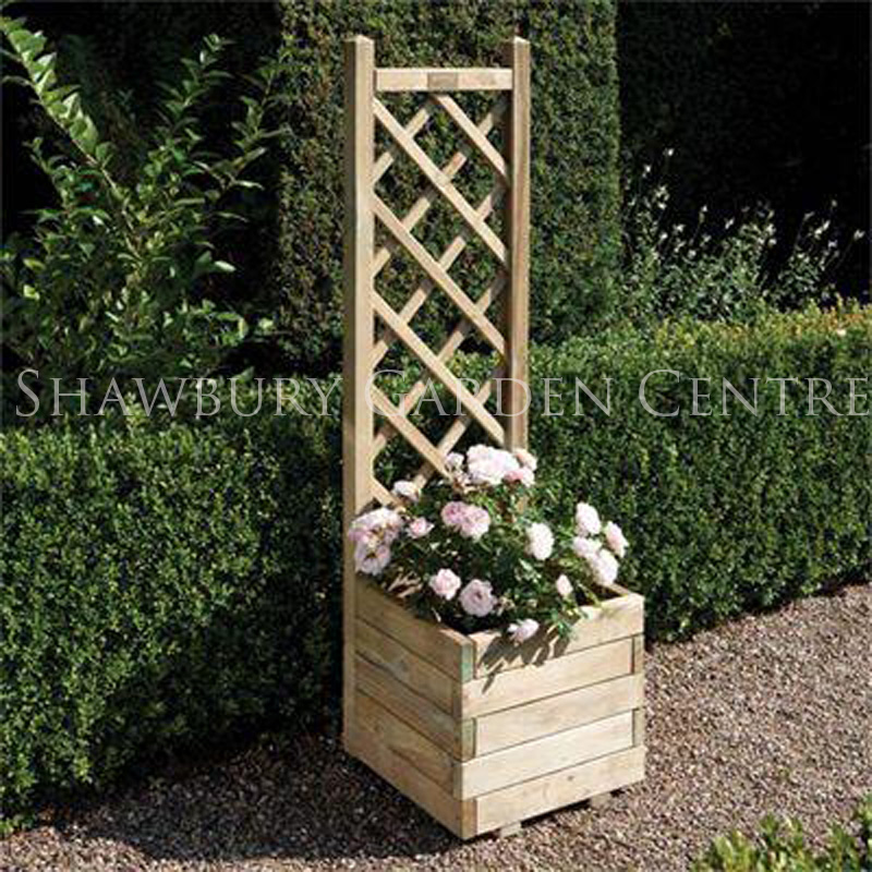 Picture of Rowlinson Square Planter with Trellis Panel