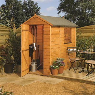 Picture of Rowlinson 6 x 4ft Modular Shed