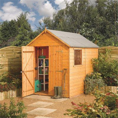 Picture of Rowlinson 8 x 6ft Modular Shiplap Garden Shed
