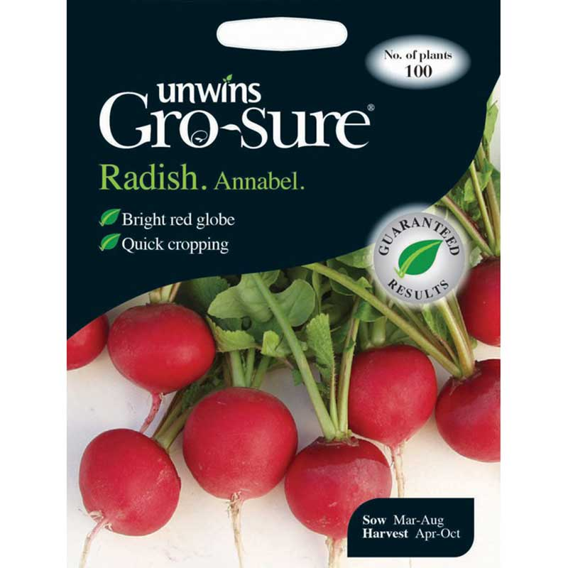Picture of Unwins Gro-sure® 'Annabel' Radish Seeds