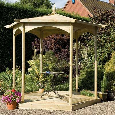 Picture of Grange Budleigh Gazebo (open sided)