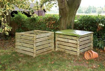 Picture of Grange Wooden Garden Composter (Large Size)