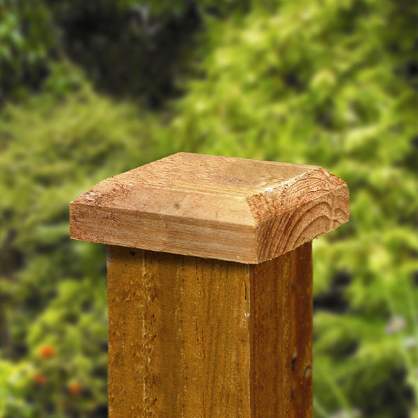 Picture of Grange Fence Post Cap (100mm)
