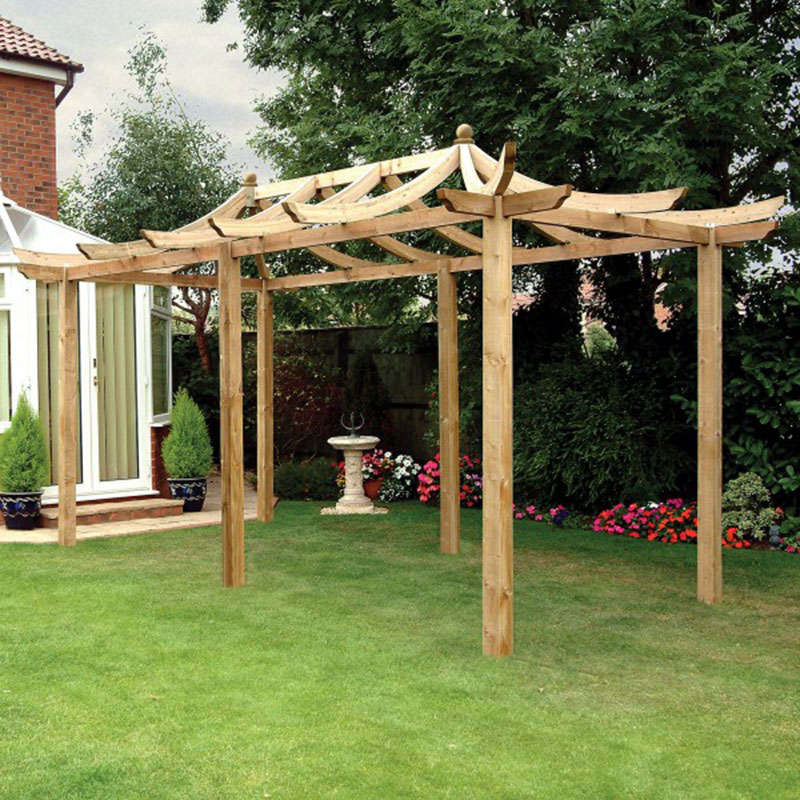 Picture of Grange Extended Dragon Pergola