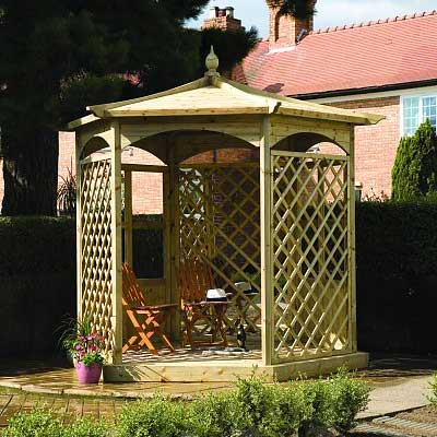 Picture of Grange Budleigh Gazebo: Option A
