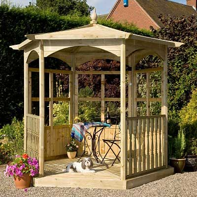 Picture of Grange Budleigh Gazebo: Option B